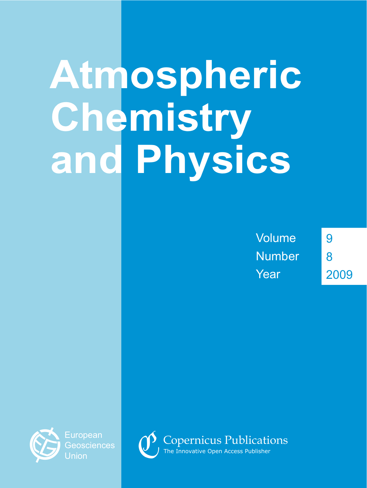 Accepted at atmospheric chemistry and physics after nearly two and